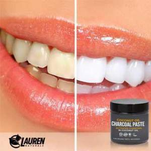 Activated Charcoal in Organic Coconut Oil for Teeth Whitening- (Sample, 0.25 oz)
