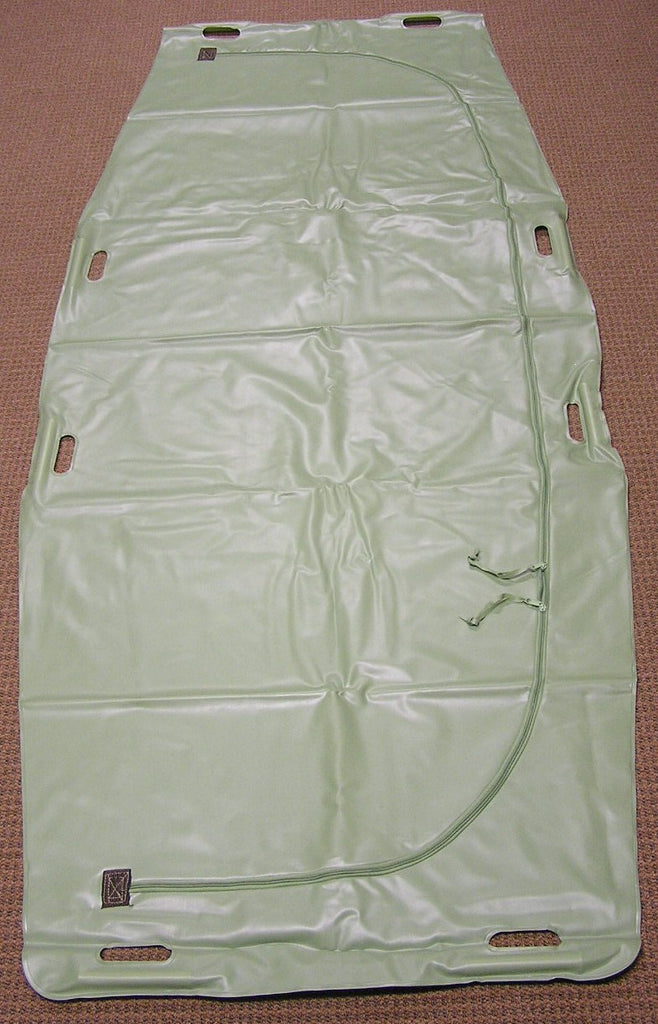 Green Transport Body Bag (Dowel Handles)