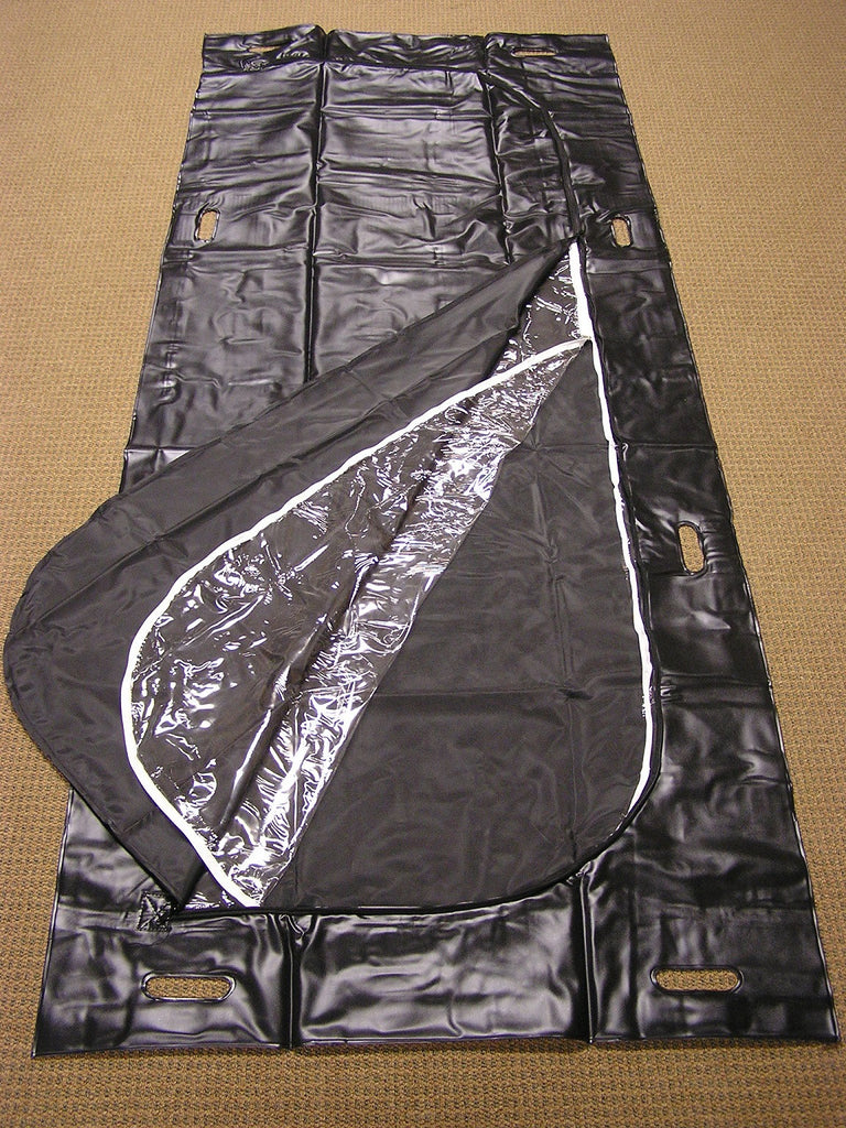 "Heavy Duty  ""View-able"" Transport Body Bag"