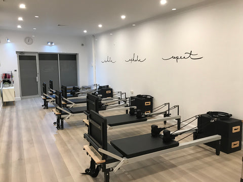 Recalibrate Pilates Reformer Space