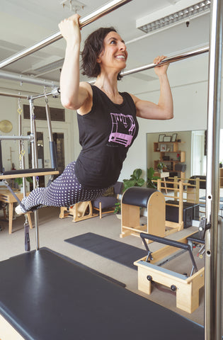 Jo, in her studio - Sydney Centred Pilates