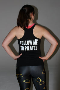 Womens Pilates Clothing. Follow Me to Pilates. Pilates Tank