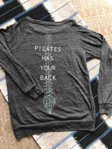 Pilates Has Your Back - Long Sleeve