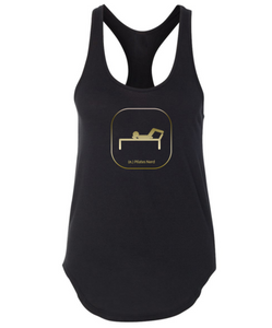 Pilates Nerd Reformed Nerd Tank in Black