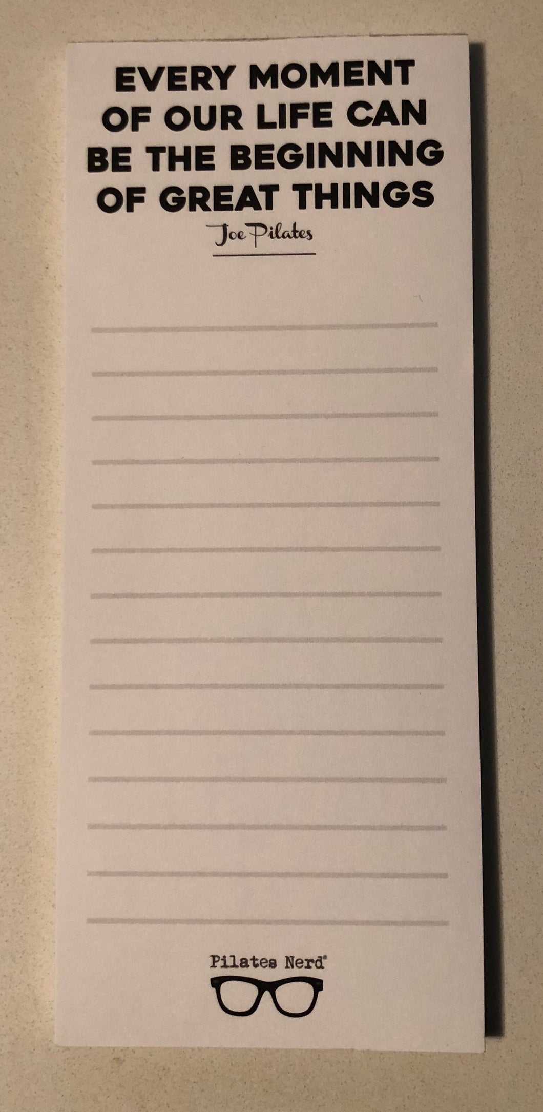 Quote Notepad