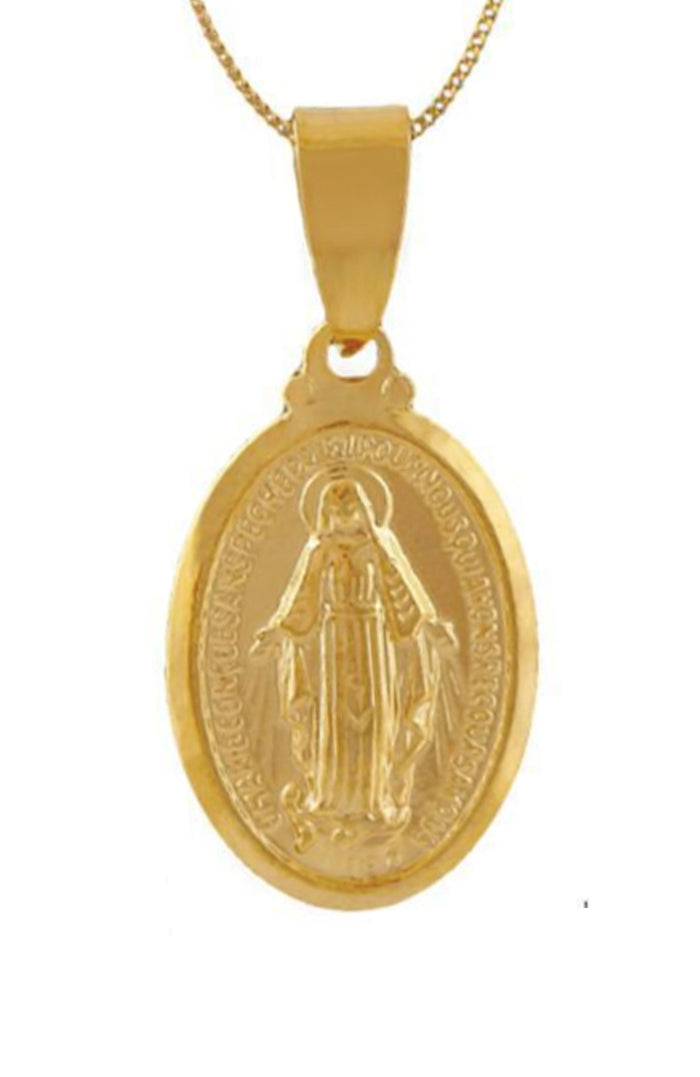 St Christopher - 18k Gold Plated