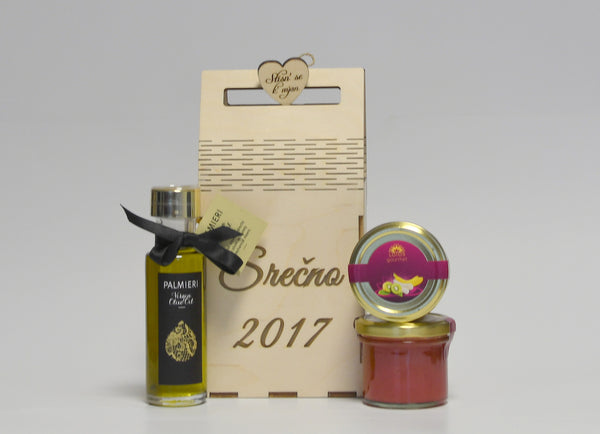 PALMIERI Virgin olive oil & LOTOS Gourmet
