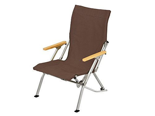 Snow Peak Low Chair Brown One Size