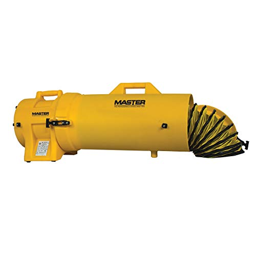 "Master MB-P0813-DC25 Blower, 8"", 1/3 hp, 115V, with Attachable Duct Canister and 25' Duct"