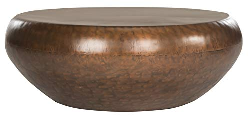 Safavieh Home Collection Patience Copper Coffee Table