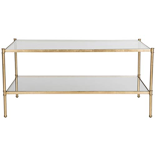 Safavieh Home Collection Aslan Gold Coffee Table