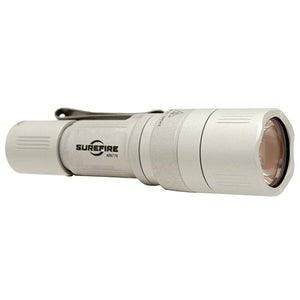 SureFire EB1 Backup Click Switch Dual-Output LED Flashlight, Silver