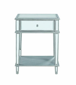 Coaster 904014-CO Accent Table, Clear Mirror