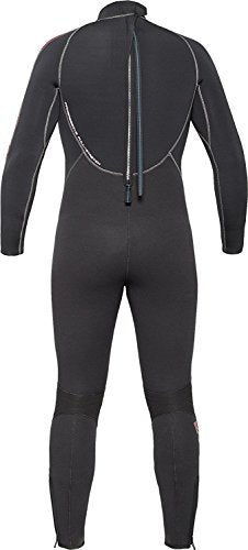 Bare 5mm Velocity Full Suit Men's Wetsuit Blue, Large-Tall
