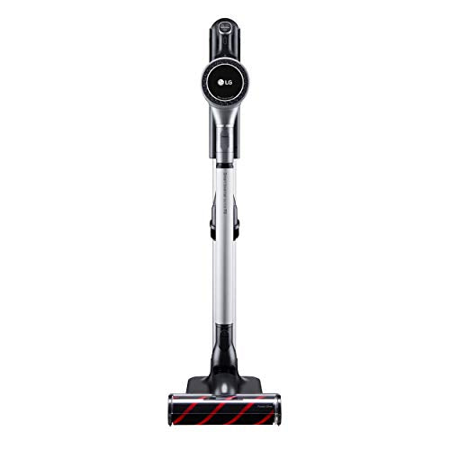 LG CordZero A9 Stick Vacuum Charge Plus, Matte Silver, A906SM, Powerful. Cordless. Long-Lasting, Powerful Suction, Cleans Carpets and Hard Floors, Includes Extra Battery, Flexible Storage Modes