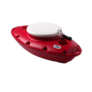 CreekKooler PuP Floating Cooler, 15 Quart, Tow Behind, Red