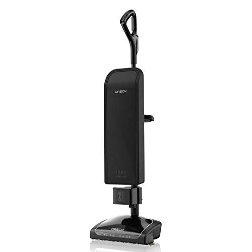 Oreck Elevate Cordless Upright Bagged Vacuum Cleaner, Lightweight with HEPA Media Filter, BK95519, Black