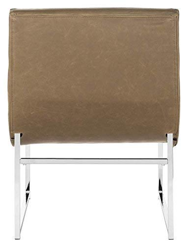 Safavieh Accent Chair, Normal, Antique Taupe