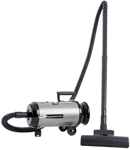 MetroVac 113-578017 Model OV4SNBF-200CVC Professional Evolution Variable Speed Compact Canister Vacuum, Satin Nickel/Black Finish, 4.0 Peak HP Twin Power Motor, 11.25 Amps, 1350 Watts