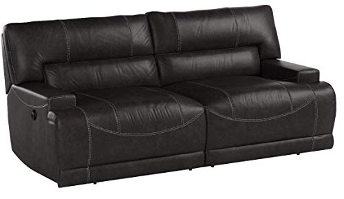 Signature Design by Ashley McCaskill 2-Seat Reclining Power Sofa Gray