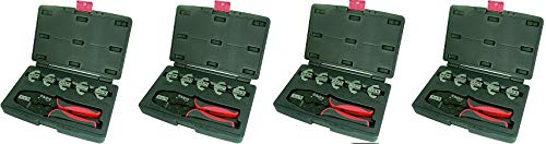 Astro Pneumatic Tool 9477 7-Piece Professional Quick Interchangeable Ratchet Crimping Tool Set (4)