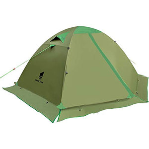 GEERTOP Camping Tent for 2 Person 4 Season Backpacking Tent Double Layer Waterproof for Outdoor Hunting, Hiking, Climbing, Travel - Easy Set Up