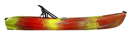 Perception Kayaks Tribe 9.5 | Sit on Top Kayak for All-Around Fun | Large Rear Storage with Tie Downs | 9' 5""