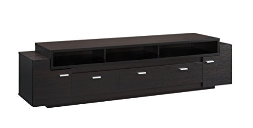 ioHOMES Coley Modern 3-Drawer TV Stand with 3-Shelf For Holding Electronics, 84