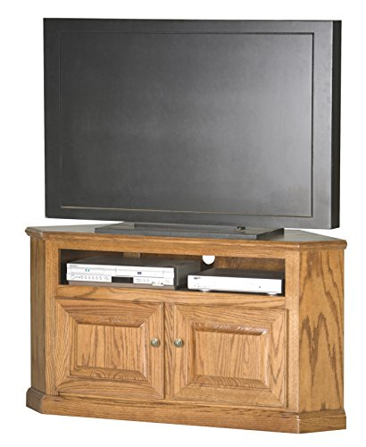 "Eagle Corner TV Cart, 50"", Dark Oak Finish"