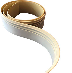 "FlexTrim Flexible Baseboard # 5180: 9/16"" Thick x 5.25"" Tall Flexible Base molding - 12' feet Long"