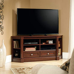 "Sauder Palladia Entertainment Credenza, For TVs up to 60"", Select Cherry finish"