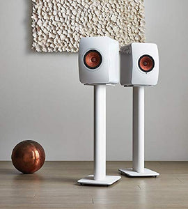 KEF Performance Speaker Stand (White, Pair)