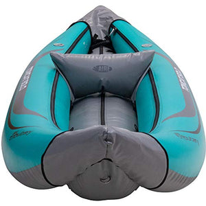 AIRE Tributary Tomcat Solo Inflatable Kayak-Teal