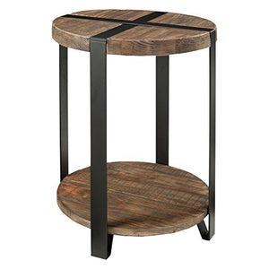 Alaterre Furniture Stowe end-Tables, Natural
