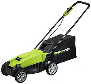 Greenworks 14-Inch 9 Amp Corded Electric Lawn Mower MO14B00