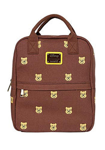 Loungefly Winnie the Pooh Canvas Mini Backpack Standard