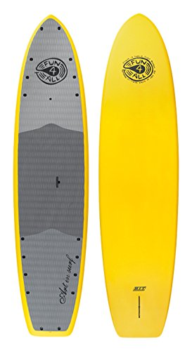 "Art in Surf Fisherman Paddle Board, 12"" x 35"" x 5""/285 L, Yellow"