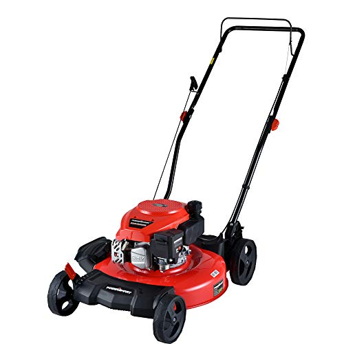 "PowerSmart DB2194CR 21"" 2-in-1 170cc Gas Push Lawn Mower"