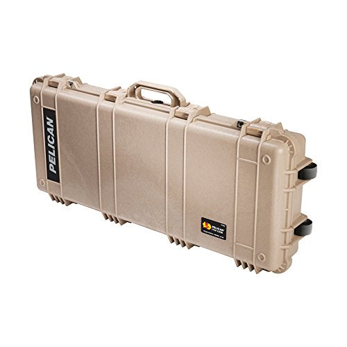 Pelican 1700 Rifle Case With Foam (Desert Tan)