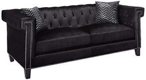 Coaster Sofa, Black