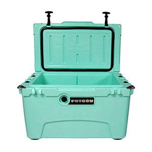 Fatboy 45QT Rotomolded Chest Ice Box Cooler Seafoam Green