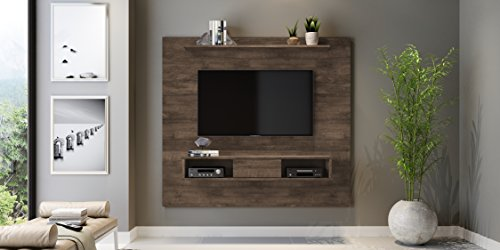 Midtown Concept 2-shelf 70-inch TV Board, Distressed Brown