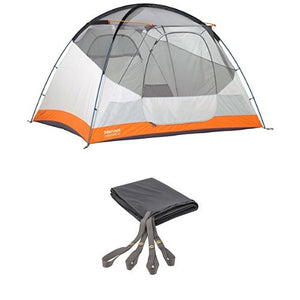 Marmot Limestone 6P Tent, Gold, Malais Gold, 6 Person with 6P footprint