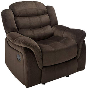 Christopher Knight Home Hawthorne Glider Recliner, Chocholate