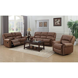 Emerald Home Furnishings Spencer recliner, Standard, brown