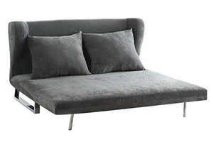 Coaster 551074-CO Convertible Sofa, Grey