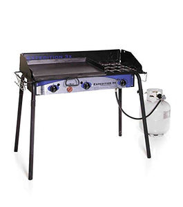 Camp Chef Expedition 3X Triple Burner Stove w/Griddle