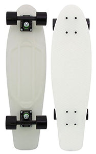 "Penny Skateboard - Casper 27"" - Glows in The Dark - Nickel Style Larger Deck for Stability Great for Skaters of All Levels"
