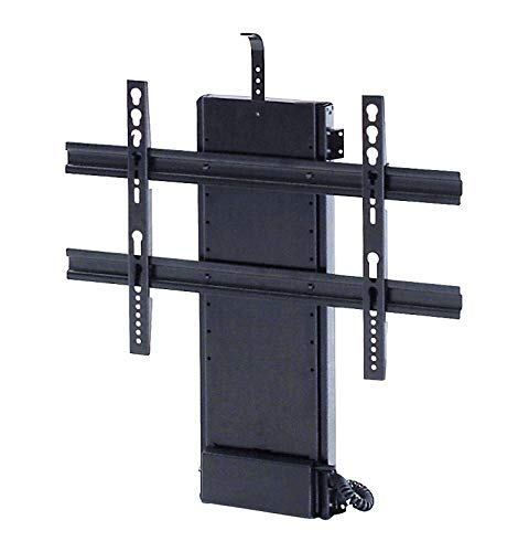 "Whisper Ride 1000 Motorized TV Lift for TVs up to 70"", 5-Year Warranty, Danish Engineered for a Thinner Profile, Increased Stability, and Safety. Capacity 145 lbs, Travel Distance 39.4"""