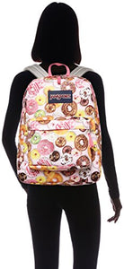 JanSport Unisex SuperBreak Multi Donuts Backpack,One Size
